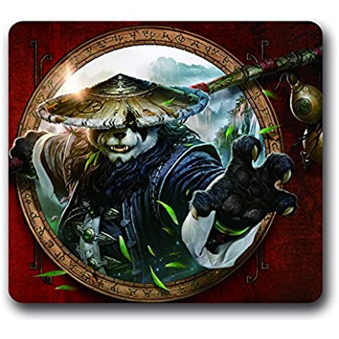 Snuggle-Tappetino per Mouse da gioco World Of Warcraft, WOW in gomma antiscivolo, 25,40 cm x (World Of Warcraft Mouse Pad)