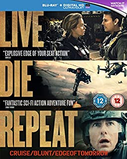 Live Die Repeat: Edge of Tomorrow [Blu-ray] [2014] [Region Free] (B00BC36U58) | Amazon Products