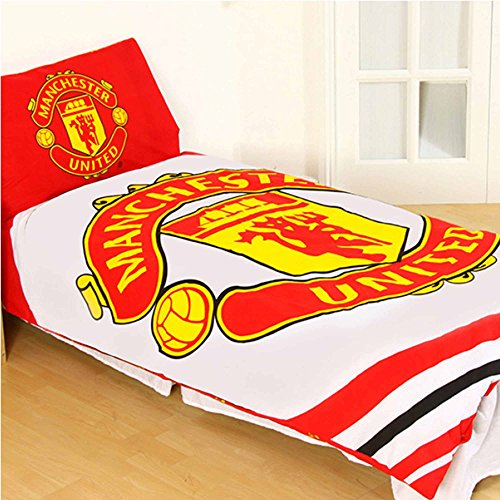 (Manchester United 'Pulse' wendbar Einzelbett, Steppdecke, Set)