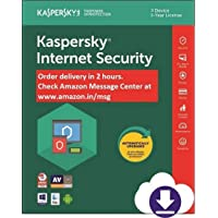 Kaspersky Internet Security 2020 Latest Version - 3 PCs, 3 Years (Email Delivery in 2 hours- No CD)