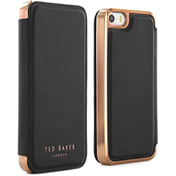 55149514df19a Ted Baker SS16 SHAEN Mirror Folio Case for iPhone SE  Amazon.co.uk ...