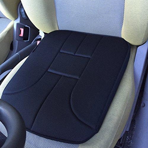 Coussin d'assise pour voiture - Marque ad'just® / version standard - Coussin pour siège de voiture - Coussin ergonomique de voiture - Coussin pour soulager les douleurs lombaires en voiture - Coussin pour soulager le coccyx - Coussin ad'just pour voiture