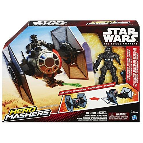 Star Wars Star Wars Hero Mashers Episode VII TIE Fighter and TIE Fighter Pilot