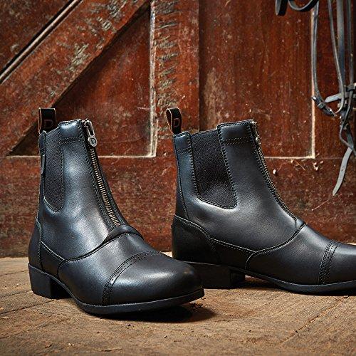 Dublin Summit Zip Jodhpur-Boots Schwarz