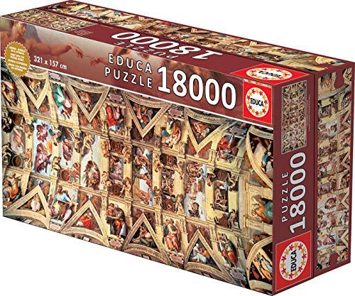 Educa 16065 - Puzzle - Sixtinischen Kapelle, 18000-Teilig
