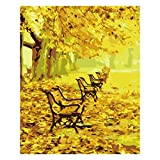 #10: SUPVOX Paint by Number Kit DIY Oil Landscape Painting Kits Home Wall Decoration