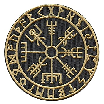 Golden Vegvisir Viking...