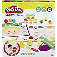 PLAY-DOH B34071020 Shape and Learn Letters and Language