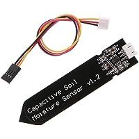 iHaospace Capacitive Soil Moisture Sensor Corrosion Resistant for Arduino Moisture Detection