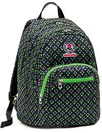 41a1e91d58 ZAINO INVICTA format - WALLPAPER - Verde Nero - scuola e tempo libero - 31  LT