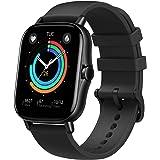 Amazfit Smartwatch GTS 2e GPS 1,65''Aktivitätstracker für Fitness und Gesundheit mit 90 Sportmodi, 14 Tagen Akkulaufzeit, Übe