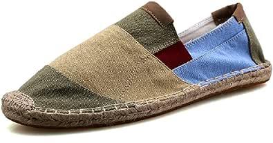 Unisex Espadrillas Basse Casuali Colpisci Comfort Moda Cinese Colore Scarpe Slip On Flats