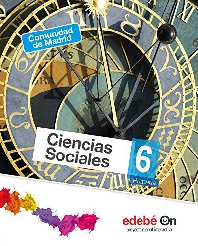 Ciencias Sociales 6 (Versión Madrid) - 9788468321219