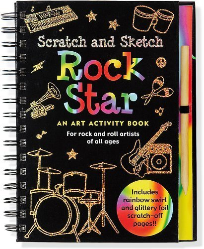 Rock Star Scratch & Sketch (An Art Activity Book for Rock 'n' Rollers for all Ages) (Scratch and Sketch) by Vicki Fischer (2011-01-01) par Vicki Fischer