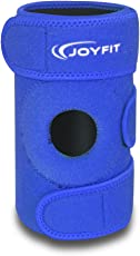 JoyFit - Knee Cap for Knee Pain, Gym, Protection, Sports, Arthritis, ACL, Basketball, Cycling, Exercise, Workout, Injury, Jogging, Running, Ligament, Legs for Men and Women (Blue)