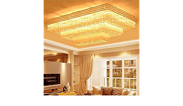 Plafoniere Rettangolari Cristallo : Ym yg living lampade da soffitto hall plafoniere modo
