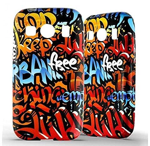 1001 Coques - Coque silicone Samsung Galaxy Ace 4 Graffiti