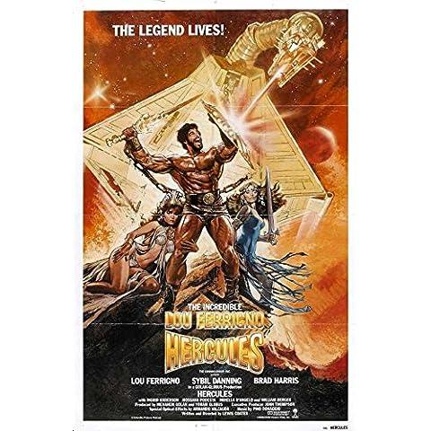Riproduzione di un poster Presenting–Hercules 198302–Poster Print Online