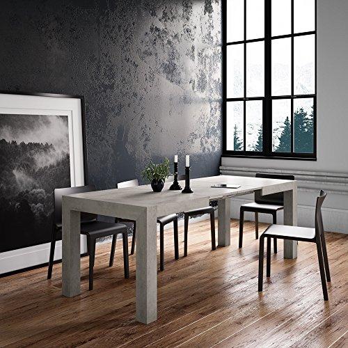 TAVOLO ALLUNGABILE CUCINA CEMENTO IACOPO   Negozio di tavoli moderni