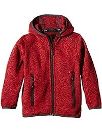 CMP Chaqueta de Forro Polar, Niño, Color Rouge - Malboro-Nero, tamaño