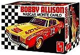 Chevrolet Monte Carlo Stock Car 1973 Bobby Alison, Kunststoffbausatz, Modellauto 1:25 / AMT