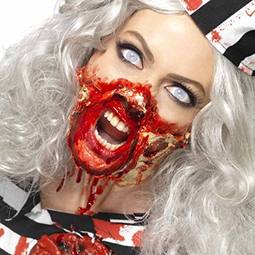 Flüssiges Latex Zombie Flüssiglatex Halloween 28 ml Latexmilch Untoter Abformlatex Horrorparty Schminke Wunden Narben Makeup Zubehör Halloweenkostüm (Halloween-make-up Narben)