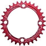 Alomejor Fiets Ketting Ring 32/34/36/38T BCD 104 Mountainbike Staal Enkele Crank Ketting Ring Reparatie Onderdelen Voor Outdo
