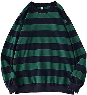 VJGOAL Sweatshirt Man Striped Pullover Male Classic Sweatshirt Streetwear Jumper Tops Sweater Men Clothes 2021 Casual Pullover