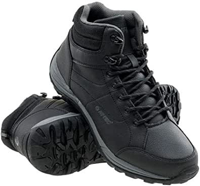 Canori - Scarpe invernali da uomo, scarpe da trekking, scarpe da trekking, invernali, impermeabili, foderate