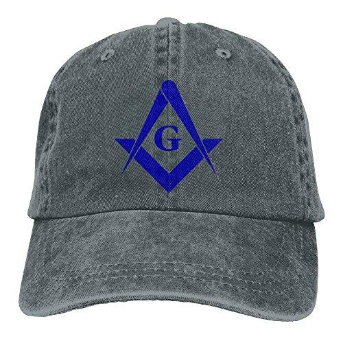 Aoliaoyudonggha Freemason Denim Hat Adjustable Mens Mini Baseball Cap