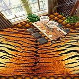 Wapel Custom 3D Soft Pack Tiger Leder Badezimmer Wohnzimmer Bodenbelag Custom Lobby Tapete Wandbild
