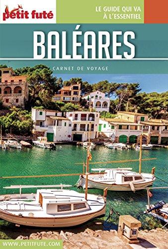 Couverture du livre BALÉARES 2016 Carnet Petit Futé