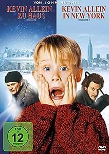 Kevin allein zu Haus / Kevin allein in New York, 2 DVDs: Amazon.co.uk: DVD & Blu-ray