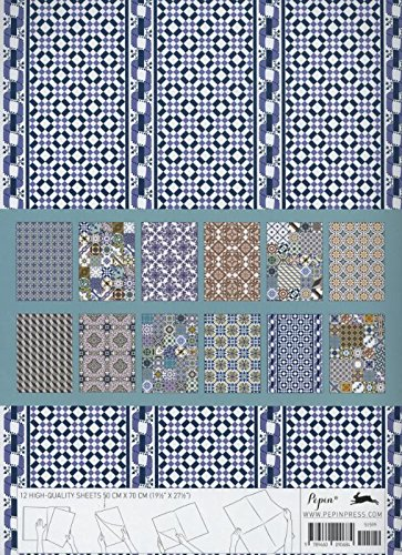 Tile Designs from Portugal: Gift & Creative Paper Book Vol. 56: 1 (Gift & creative papers (56))