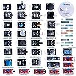 Elegoo 37-in-1 Sensor Module Kit With...