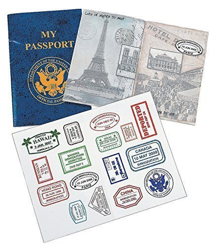 "Preisvergleich Produktbild My Passport Sticker Books (12 Pack.) 4"" X 6"". - Curriculum Projects & Activities & Social Studies by FE"