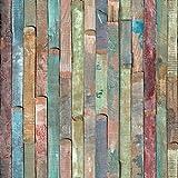d-c-fix, Folie, deco, Design Rio buntes Holz, selbstklebend, gebraucht kaufen  Wird an jeden Ort in Deutschland