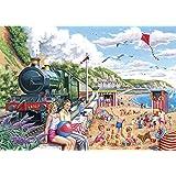 Big 250 Piece Jigsaw Puzzle - Seaside Special