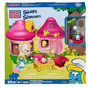 Mega Bloks 10751 - Schlumpfinchens lustiges Häuschen