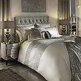 Kylie Minogue 100% algodón 200hilos de funda de edredón juego de ropa de cama lino Mezzano Praline