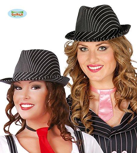Guirca Fiestas GUI13367 - Maskottchen-Hut schwarz gestreift