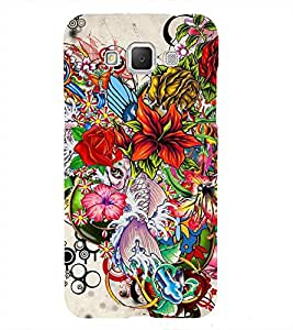 Bunch of Different Flower 3D Hard Polycarbonate Designer Back Case Cover for Samsung Galaxy Grand 3