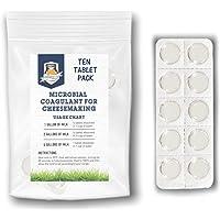 Caglio microbico per formaggio | Compresse di caglio vegetariano | Coagulante del latte | Formaggio vegano | Compresse…