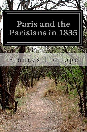 Paris and the Parisians in 1835