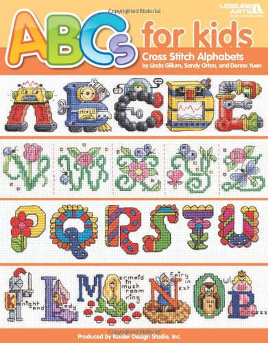 ABCs for Kids Cross Stitch Alphabets