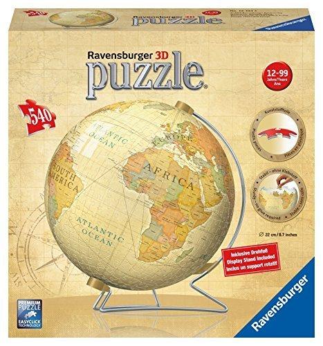 Preisvergleich Produktbild Ravensburger Vintage Globe 3D Puzzle (540-Piece) by Ravensburger