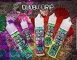 Double Drip Coil Sauce Short Fill E Liquid Vape Juice High VG 80/20 50ml 0mg (Strawberry Banana Waffle, 50ml)