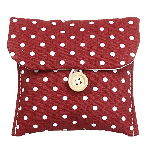toogoo-r-mujer-bolso-de-lunares-rojo-cierre-con-botones-puerta-absorbentes
