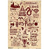 #9: WB Official Licensed Harry Potter Quotes Art Typography Poster By Happy GiftMArt Typography A4
