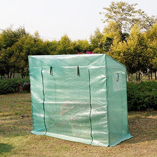 yorbay-foliengewaechshaus-gewaechshaus-mit-gitternetzfolie-und-fernster-fuer-garten-zur-aufzucht-gruen-200-x-80-x-173-cm-2